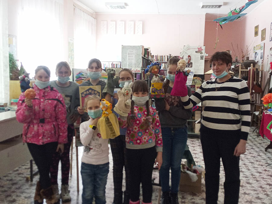 Неделя детской книги в Садовской библиотеке